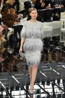PARIS, FRANCE - JANUARY 24: A model walks the runway during the Chanel Spring Summer 2017 show as part of Paris Fashion Week on January 24, 2017 in Paris, France. (Photo by Pascal Le Segretain/Getty Images)